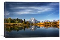 Oxbow Reflections, Canvas Print