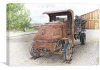 Retired Grain Truck
