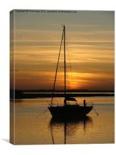 Alresford Creek, Essex, Canvas Print