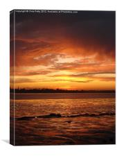 River Colne, Essex , Canvas Print