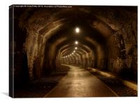 Headstone Tunnel, Derbyshire, Monsal Trail, Canvas Print