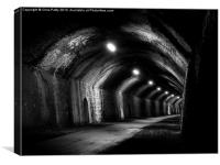 Chee Tor No1 Tunnel, Derbyshire, Monsal Trail, Canvas Print