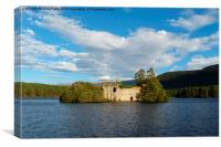 Loch an Eilein, Cairngorms National Park, Canvas Print
