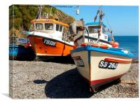 Cadgwith Cove, Cornwall, Canvas Print