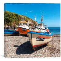 Cadgwith Cove, Cornwall , Canvas Print