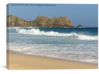 Logan Rock, Cornwall, Canvas Print