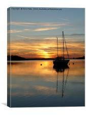 Alresford Creek, Essex , Canvas Print