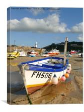 St Ives, Cornwall  , Canvas Print