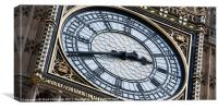 Big Ben Clock Face, Canvas Print