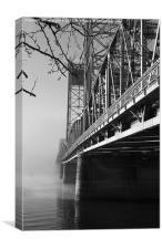 bridge to nowhere, Canvas Print