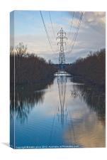 power tower, Canvas Print