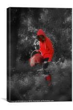 red dreams, Canvas Print