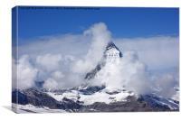 The Matterhorn, Canvas Print