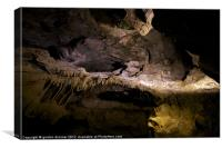 Gough's cave at cheddar gorge, Canvas Print