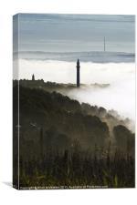 Wainhouse Tower, Halifax, Canvas Print