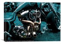 Hellboy, Canvas Print
