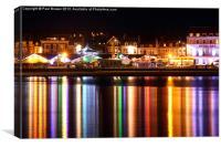 Weymouth Sea Lights, Canvas Print