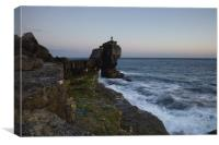 Pullpit Rock at Sunset, Canvas Print