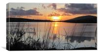 Evening in Dingle, Canvas Print
