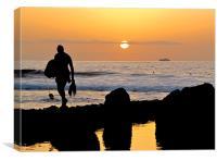 Evening in Playa de las Americas
