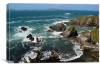 View from Dunquin Pier, Canvas Print