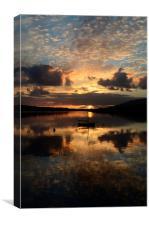 Sunset Dingle, Canvas Print