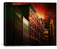 City Lofts, Canvas Print