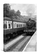 Goathland train, Canvas Print