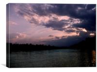 Kinabatangan River, Canvas Print
