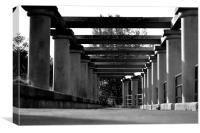 Columns, Canvas Print