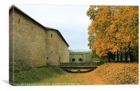Narva castle, Canvas Print