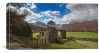 Majestic Ruins Ullswater Lake District, Canvas Print