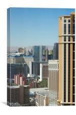 Las Vegas Hotels Nevada, Canvas Print