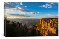 Grand Canyon Sunset, Canvas Print