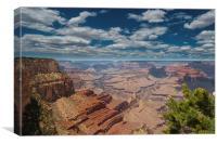The Grand Canyon Arizona USA, Canvas Print