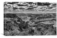 The Grand Canyon and Colorado River , Canvas Print