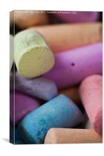Chalks, Canvas Print