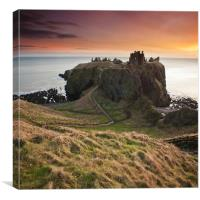 Dunotter Castle, Canvas Print