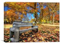 Fall Foliage Fantasy, Canvas Print