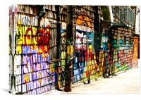 Clarion Alley, Canvas Print