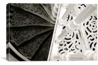 Kew spiral, Canvas Print