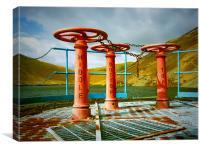 Kettleton reservoir, Canvas Print