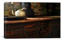 Old Stove, Canvas Print