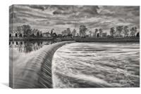 Cromwell Weir, Canvas Print