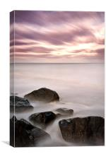 North Sea Serenity, Canvas Print