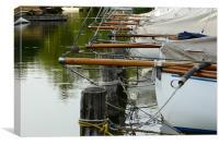 Boats Along Dock