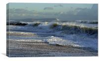 Shoreline Breaker, Canvas Print