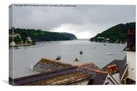 Over a Dartmouth Roof, Canvas Print