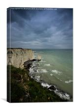 A Pinnacle and Old Harry, Canvas Print