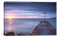 Haven Sunrise, Canvas Print